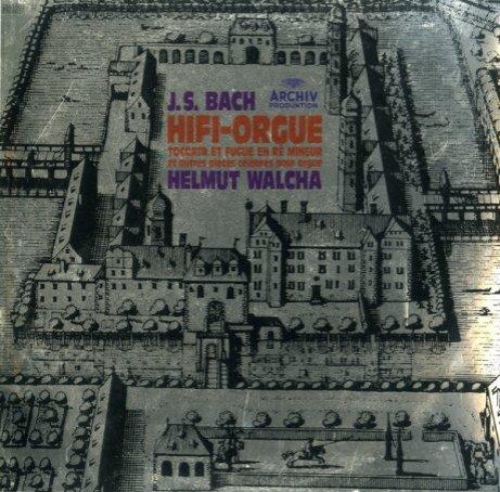 DE ARCH 2565 002 ヘルムート・ヴァルヒャ バッハ・オルガン曲集の商品詳細: アナログ・レコード 通販 RECORD SOUND